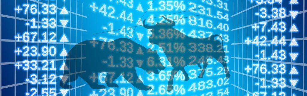 stock exchange, world economy, bull